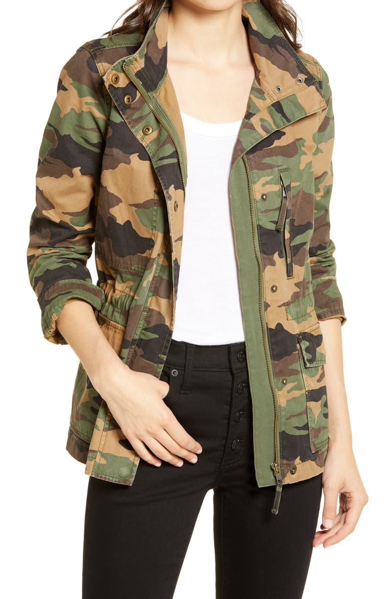 MADEWELL Dispatch Camo Jacket, Main, color, CAMO FADED BIRCH