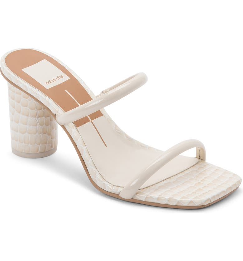 DOLCE VITA Noles City Slide Sandal, Main, color, IVORY