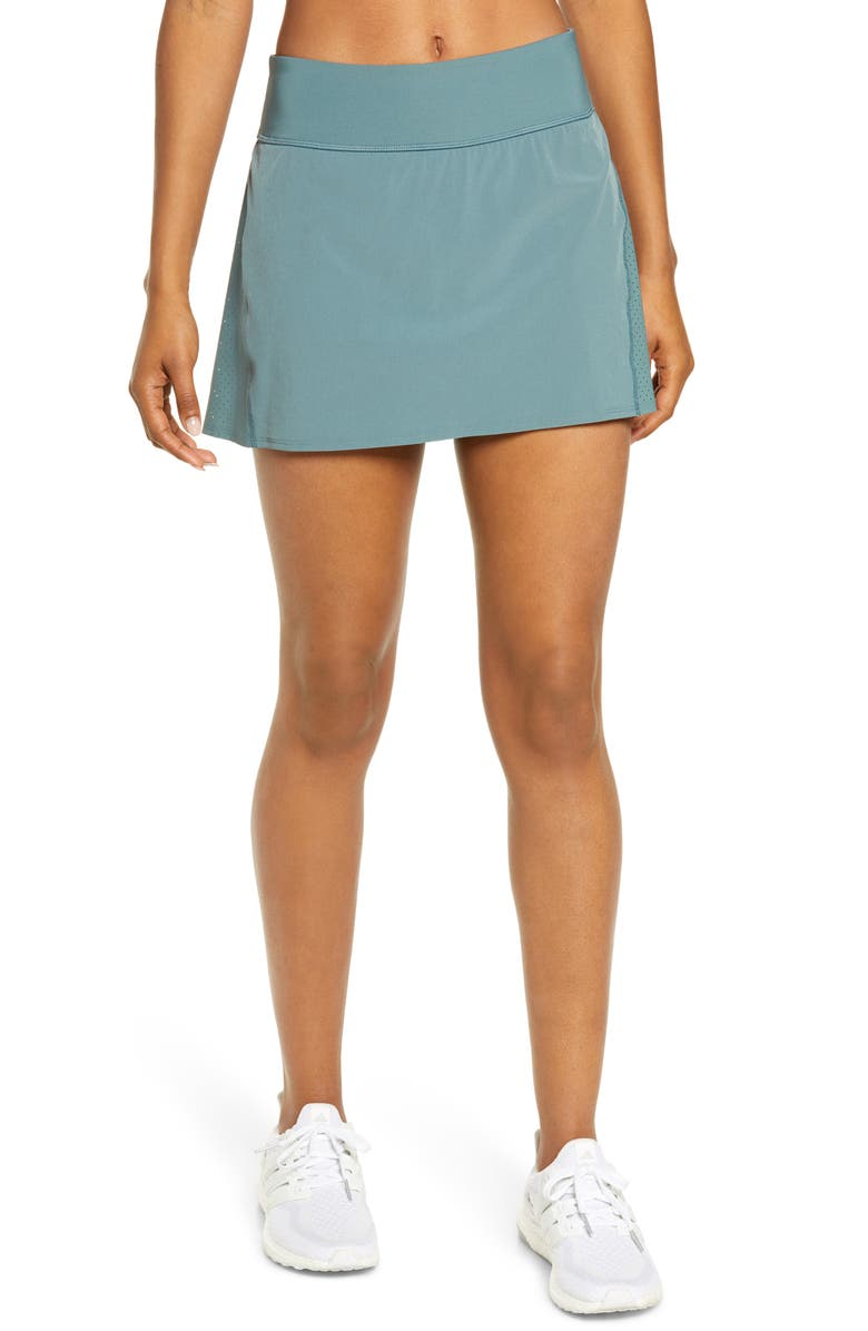 SPANX<SUP>®</SUP> The Get Moving Skort, Main, color, NORTH ATLANTIC