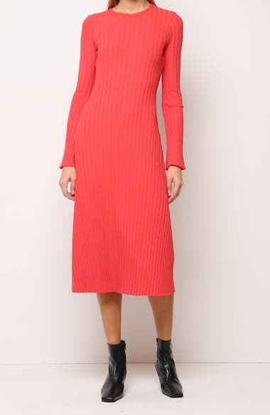 RIB by Simon Miller Wells Long Sleeve Midi Dress, video thumbnail
