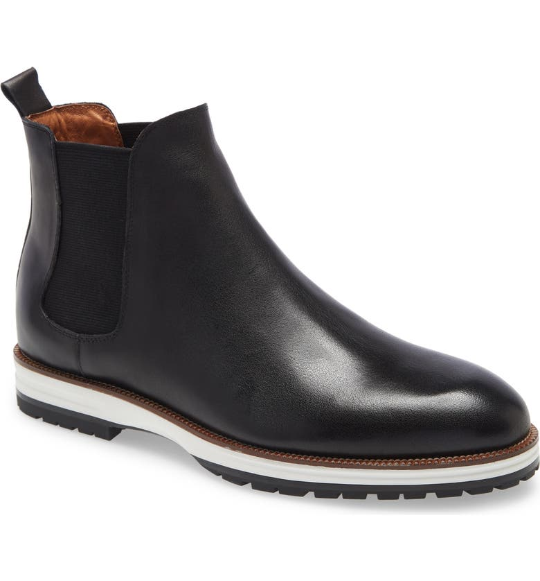IKE BEHAR Liam Chelsea Boot, Main, color, 001