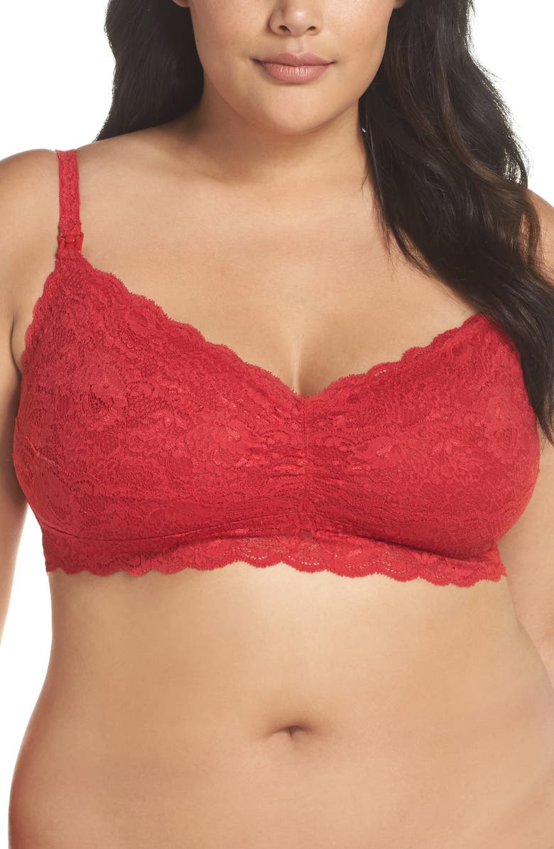 COSABELLA Never Say Never Soft Cup Nursing Bralette, Main, color, 602
