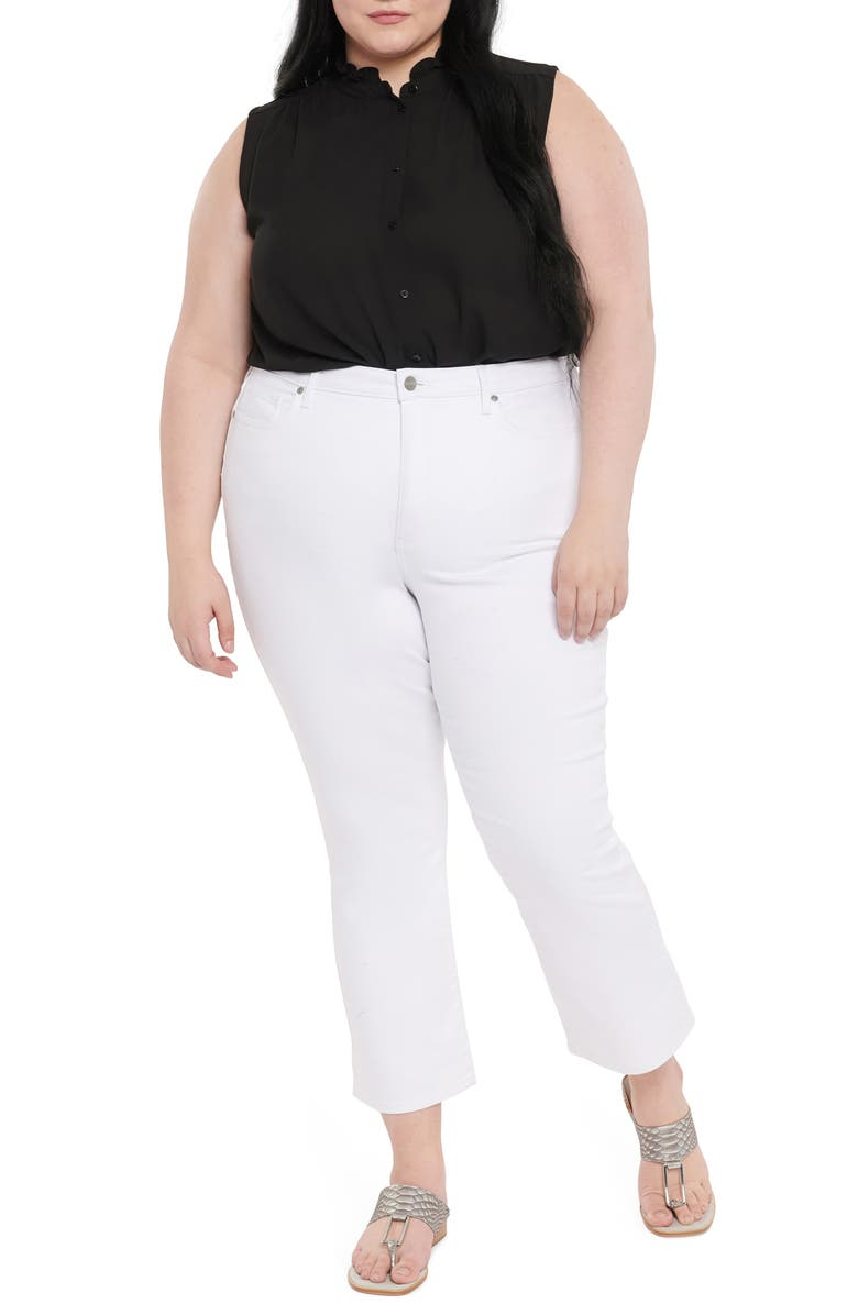 NYDJ CoolMax<sup>®</sup> Slim Ankle Bootcut Jeans, Main, color, OPTIC WHITE
