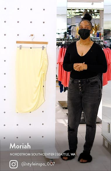 Side Ruched Skirt, sales video thumbnail