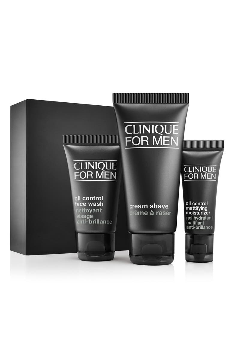 CLINIQUE for Men Starter Kit for Combination Oily to Oily Skin Types, Main, color, NO COLOR