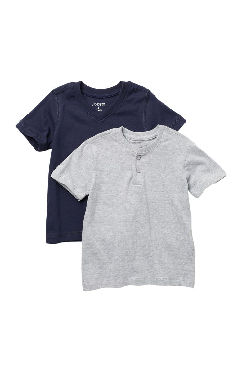 JOES 2-Pack T-Shirts, Main, color, GRY