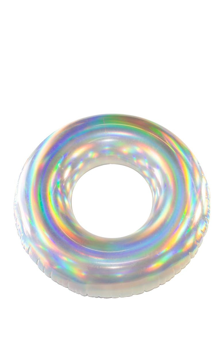"""POOLCANDY Holographic 42"""" Pool Tube, Main, color, HOLOGRAPHIC"""