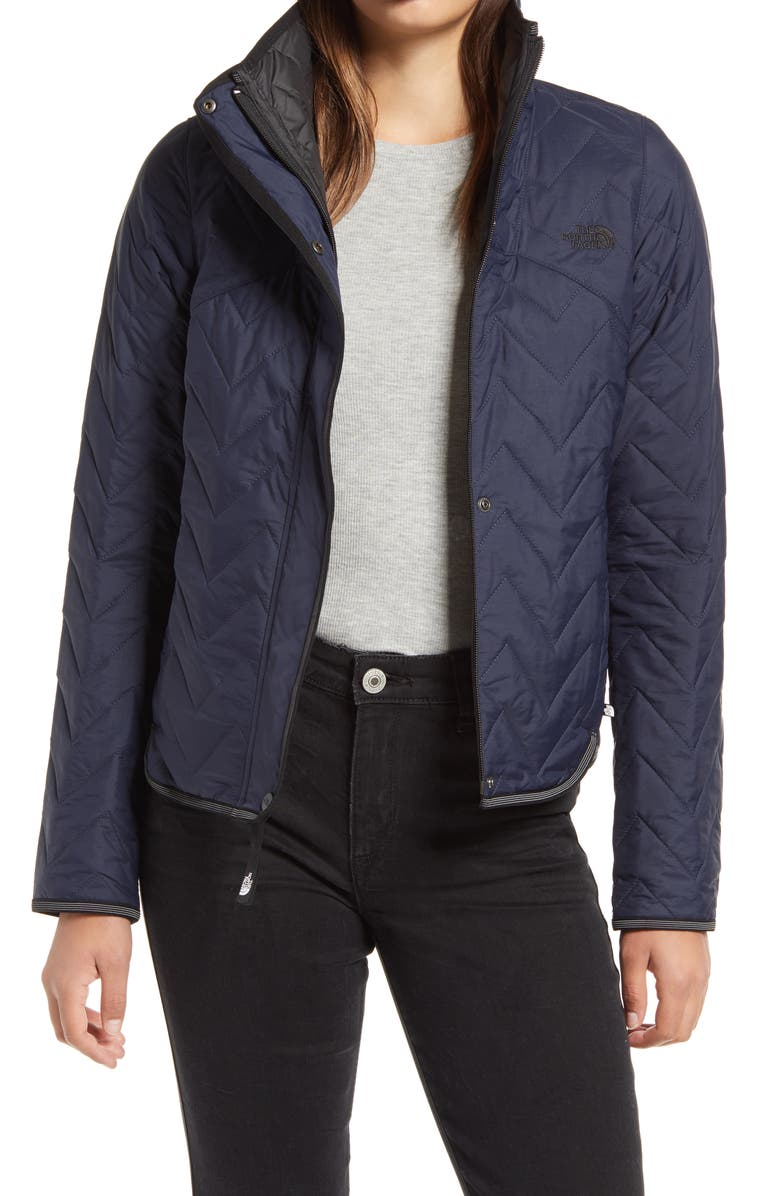 THE NORTH FACE Westborough Insulated Quilted Jacket, Main, color, URBAN NAVY
