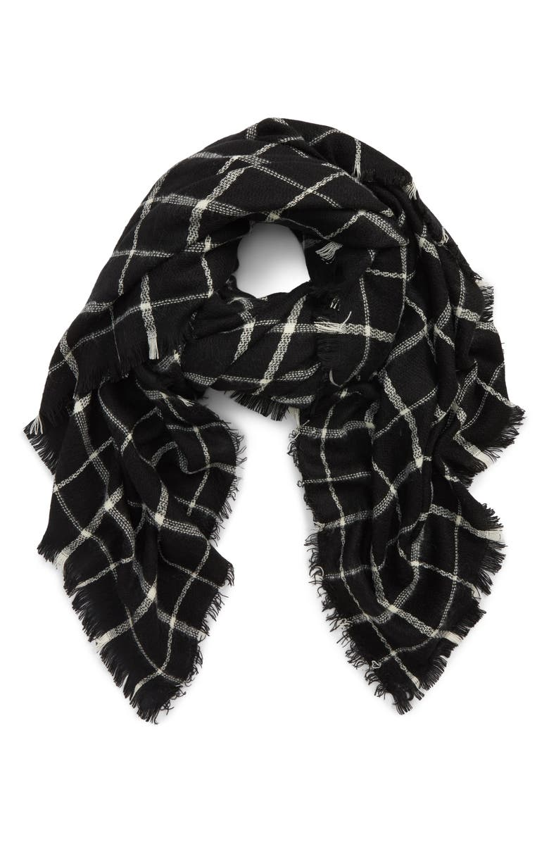 BP. Check Scarf, Main, color, 001