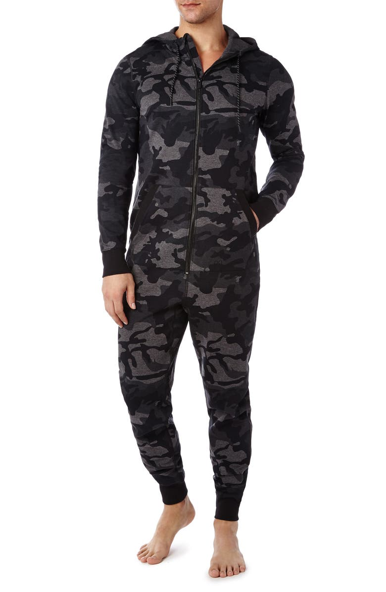 2(X)IST Terry Flight Jumpsuit Pajamas, Main, color, 030
