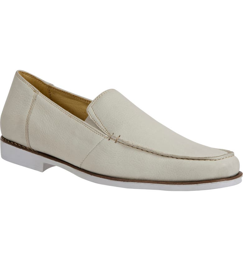 SANDRO MOSCOLONI Damien Venetian Loafer, Main, color, ICE