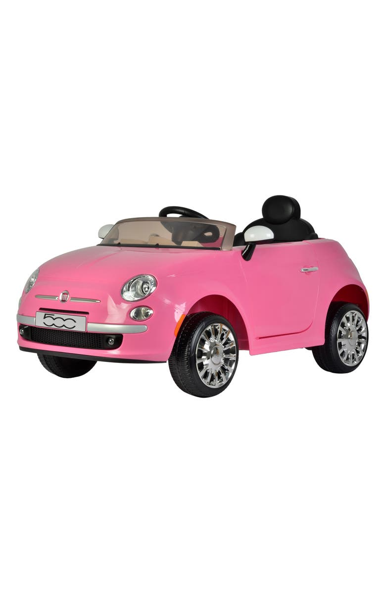 BEST RIDE ON CARS FIAT 500 Ride-On Toy Car, Main, color, 650
