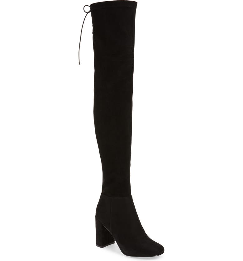 CHINESE LAUNDRY King Over-the-Knee Boot, Main, color, BLACK