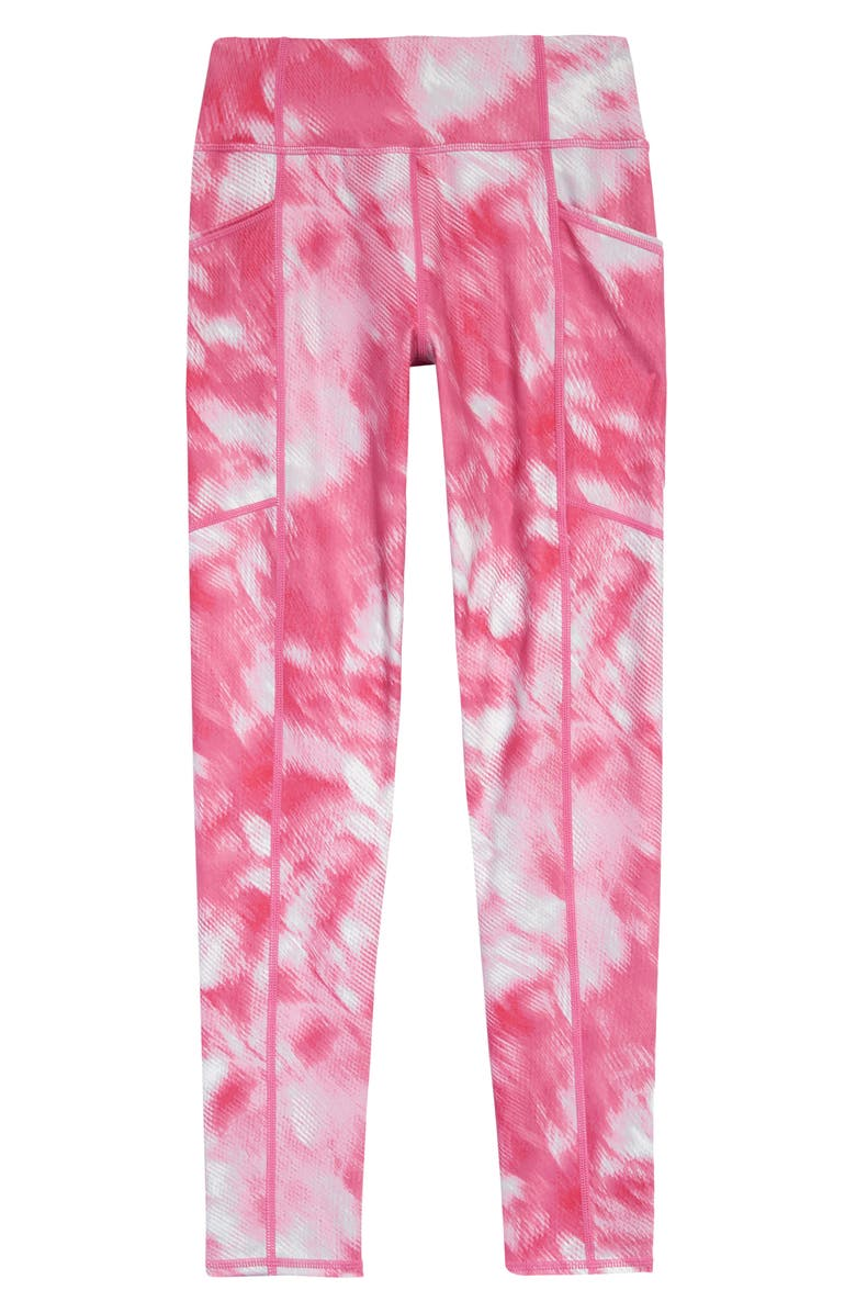 ZELLA GIRL Studio Lite Pocket Leggings, Main, color, PINK SURPRISE SIERRA FLORAL