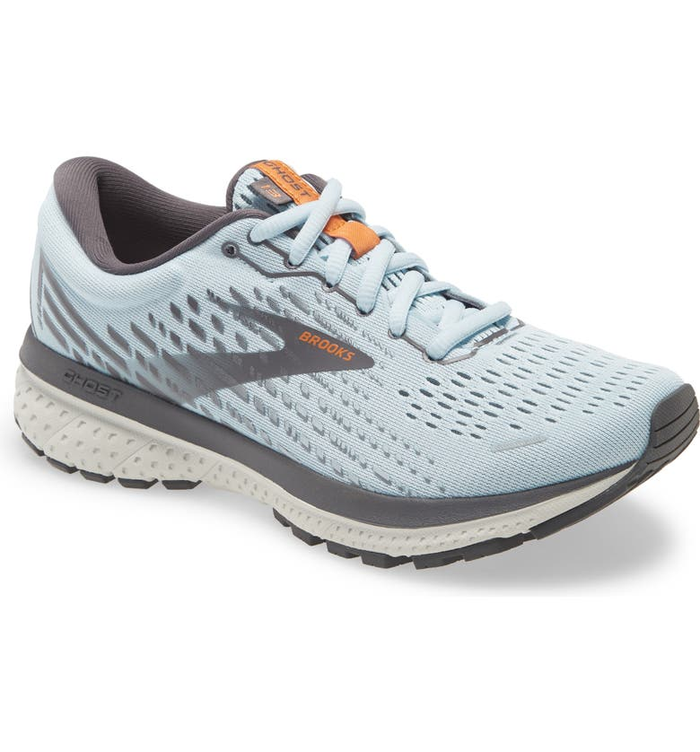 BROOKS Ghost 13 Running Shoe, Main, color, BLUE/ BLACKENED PEARL/ WHITE