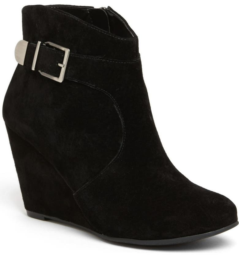 BCBGENERATION 'Wooster' Wedge Boot, Main, color, 001