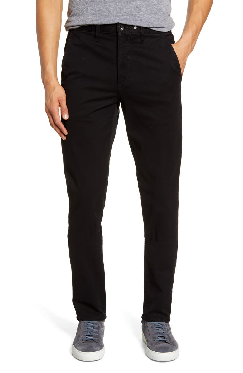 RAG & BONE Fit 2 Slim Chinos, Main, color, BLACK
