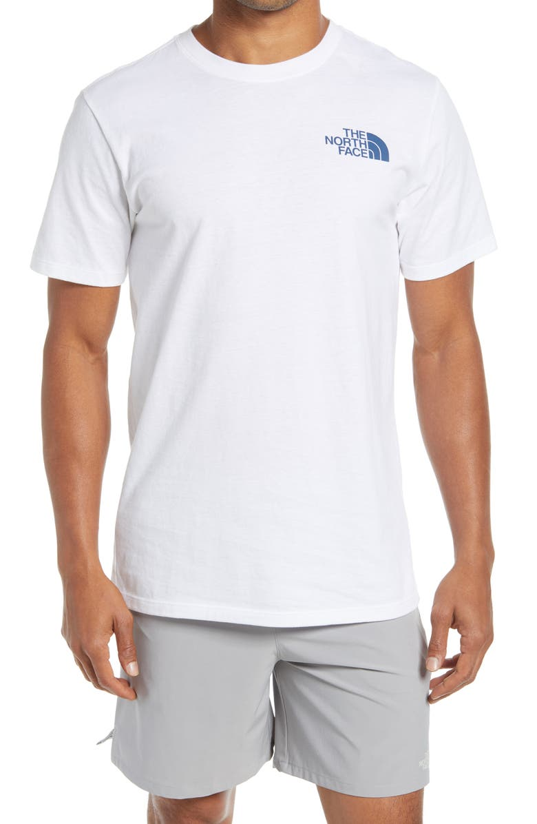 THE NORTH FACE Simple Dome Graphic Tee, Main, color, TOURMALINE BLUE