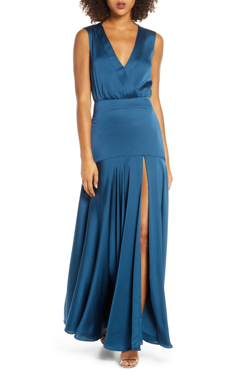 FAME AND PARTNERS Ginevra Evening Dress, Main, color, 460