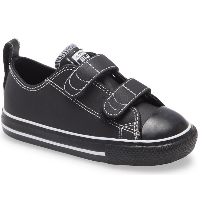 CONVERSE Chuck Taylor<sup>®</sup> All Star<sup>®</sup> 2V Sneaker, Main, color, BLACK/ BLACK/ WHITE