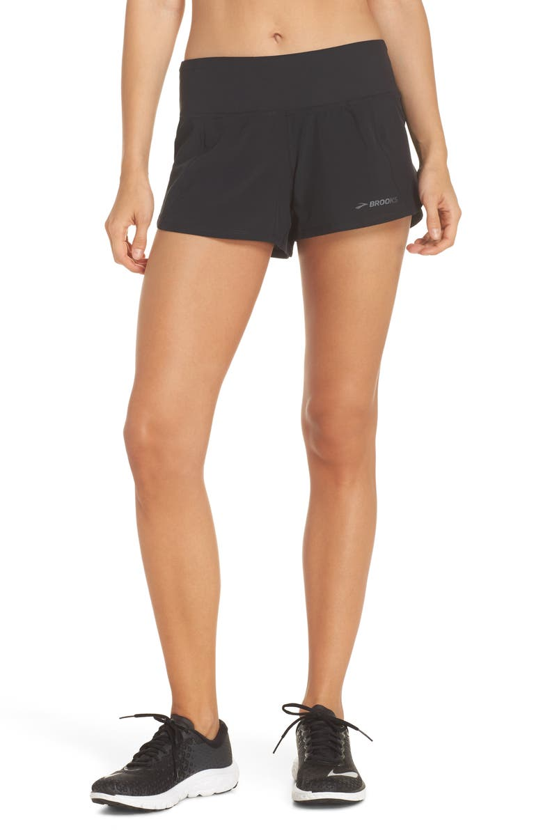 BROOKS Chaser 3 Shorts, Main, color, 001
