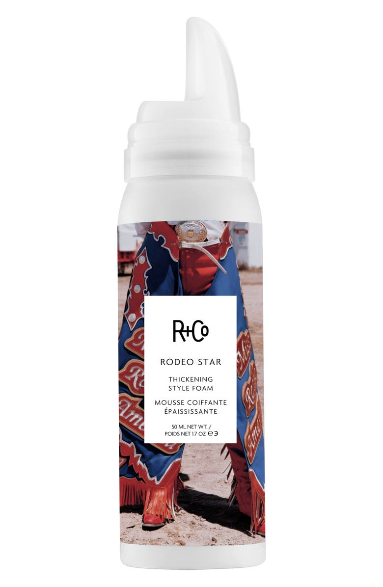 R+CO Rodeo Star Thickening Style Foam, Main, color, 000