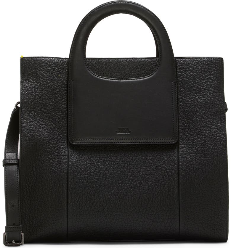 VINCE CAMUTO Beck Leather Tote, Main, color, 001
