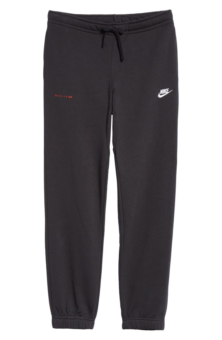 1017 ALYX 9SM x Nike Embroidered Sweatpants, Main, color, 001