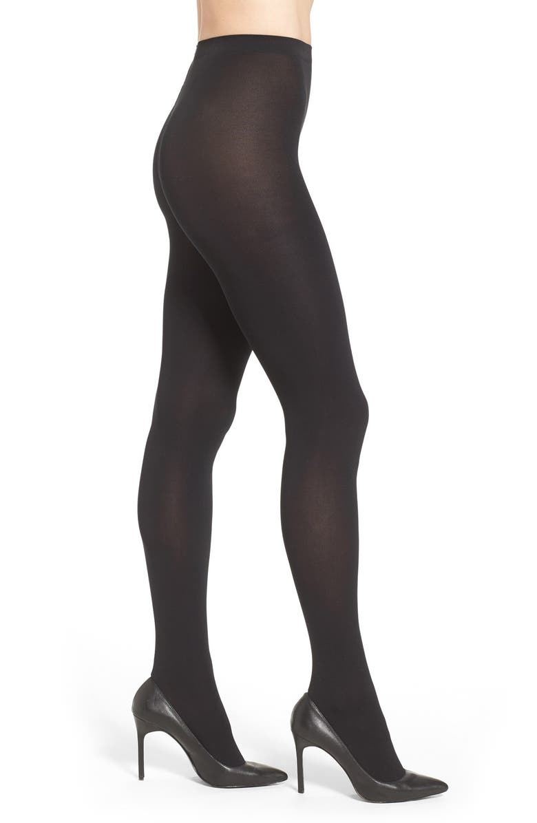 WOLFORD Matte Opaque Tights, Main, color, BLACK