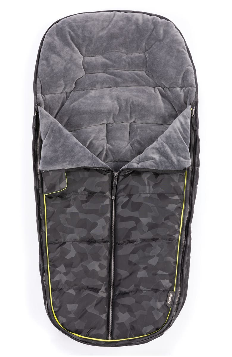 DIONO Universal All Weather Footmuff, Main, color, BLACK CAMO