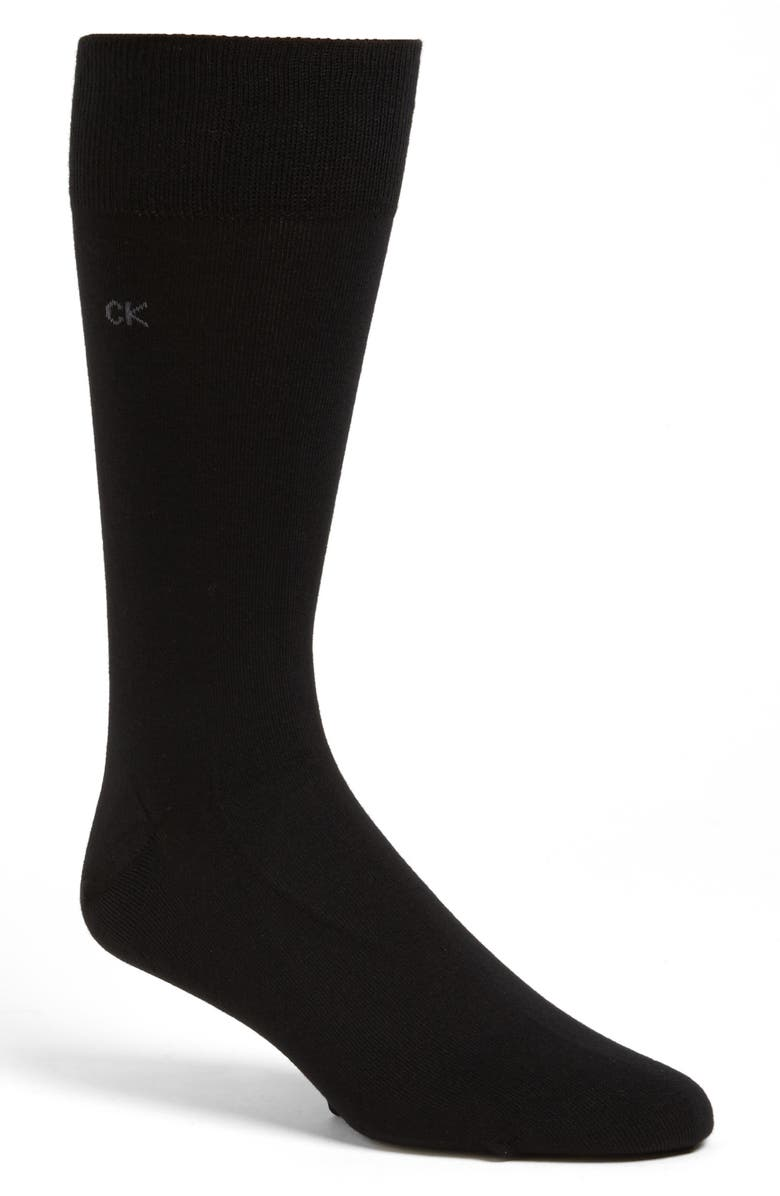 CALVIN KLEIN Assorted 3-Pack Socks, Main, color, BLACK
