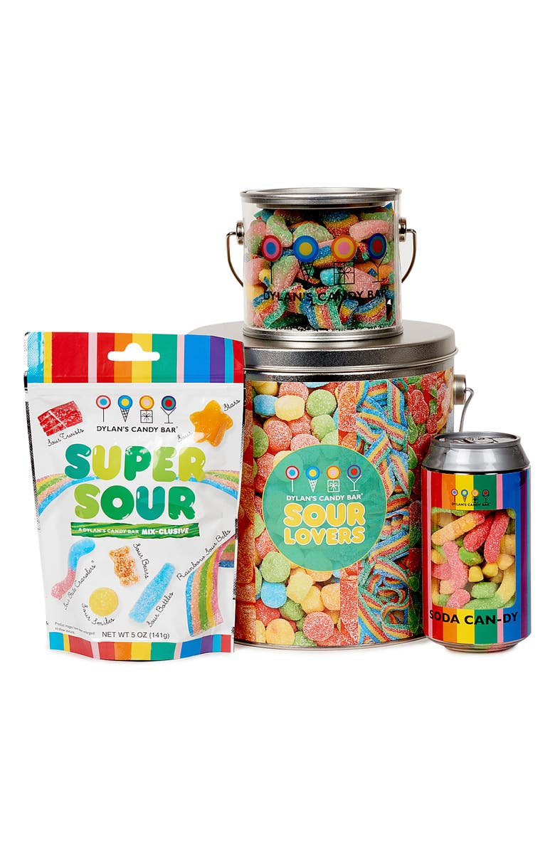 DYLAN'S CANDY BAR Sour Lovers Bucket, Main, color, 600