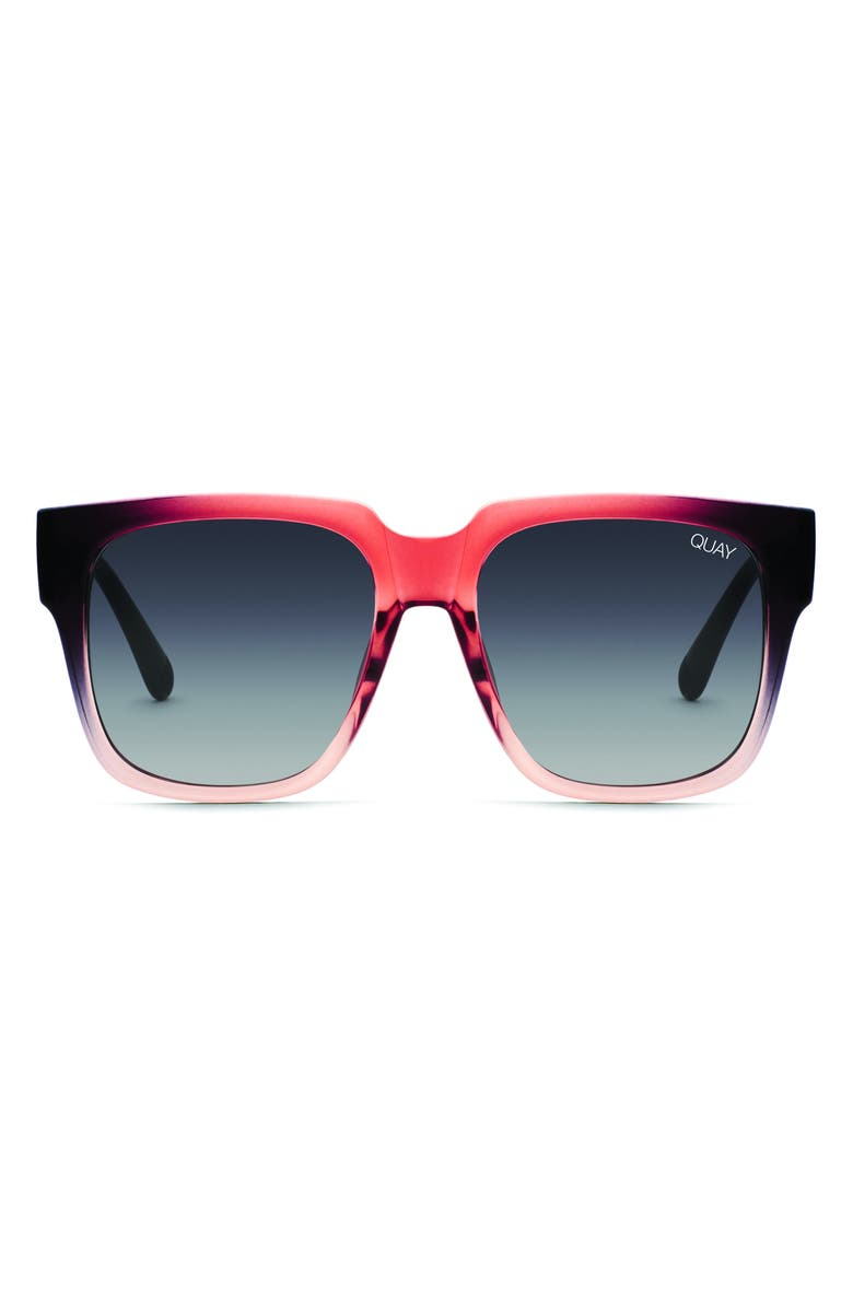 QUAY AUSTRALIA 'On the Prowl' 55mm Square Sunglasses, Main, color, 014