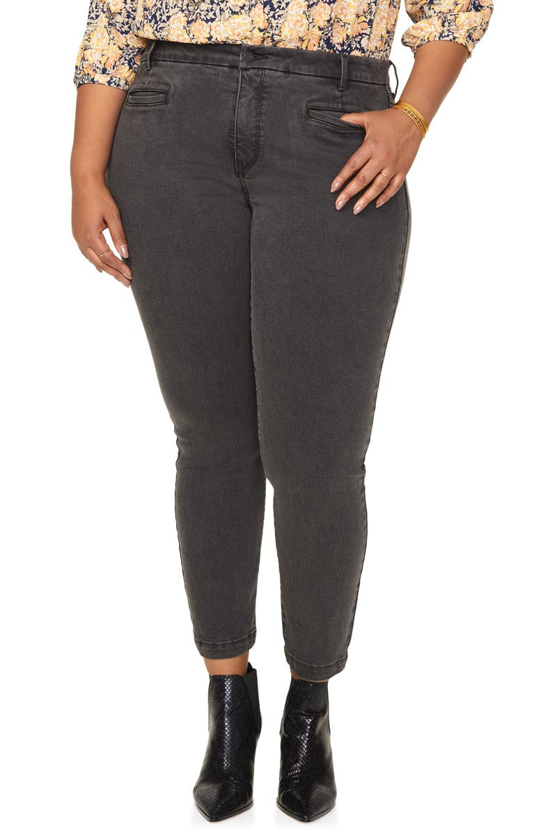 NYDJ Ami Cropped Skinny Jeans, Main, color, 020