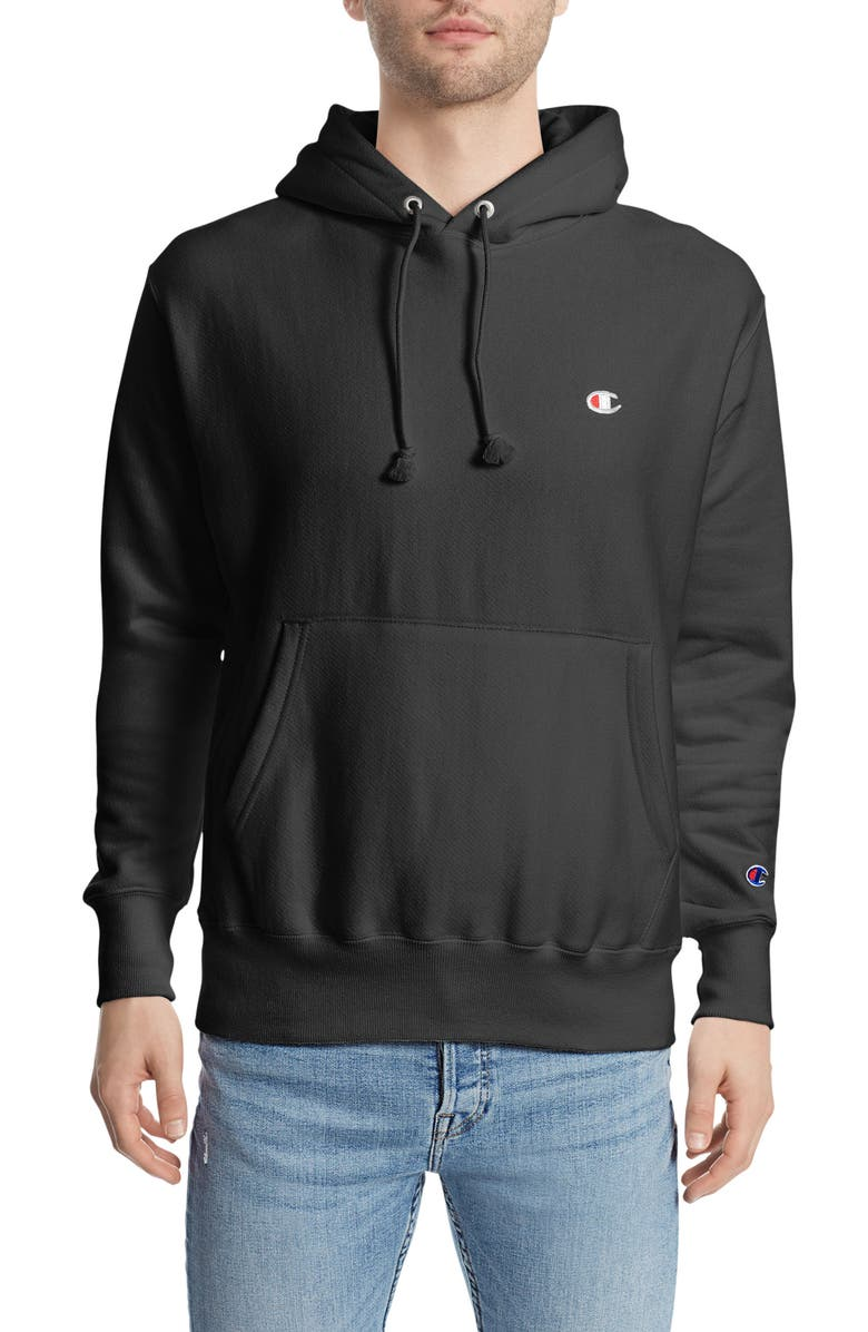 CHAMPION Reverse Weave<sup>®</sup> Pullover Hoodie, Main, color, 001