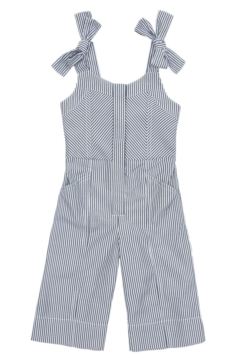 HABITUAL GIRL Whitney Stripe Jumpsuit, Main, color, 020
