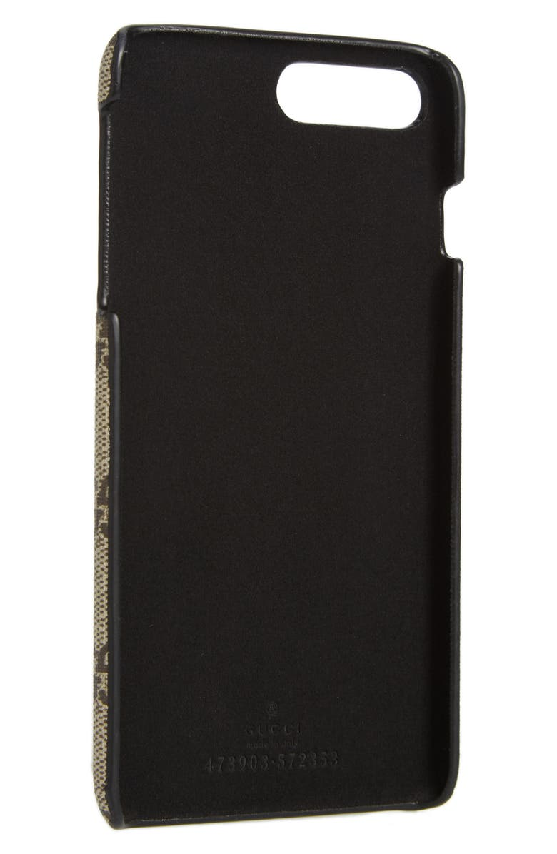 GUCCI Bestiary iPhone 7 Plus Case, Main, color, 001