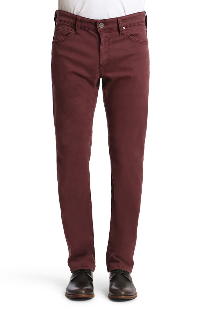 34 HERITAGE Courage Straight Leg Twill Pants, Main, color, 930