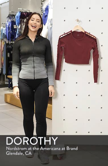 Highline Fitted Crop Top, sales video thumbnail