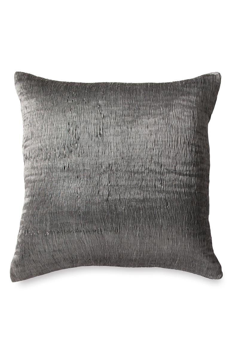 MICHAEL ARAM Metamorphosis Metallic Euro Sham, Main, color, SILVER
