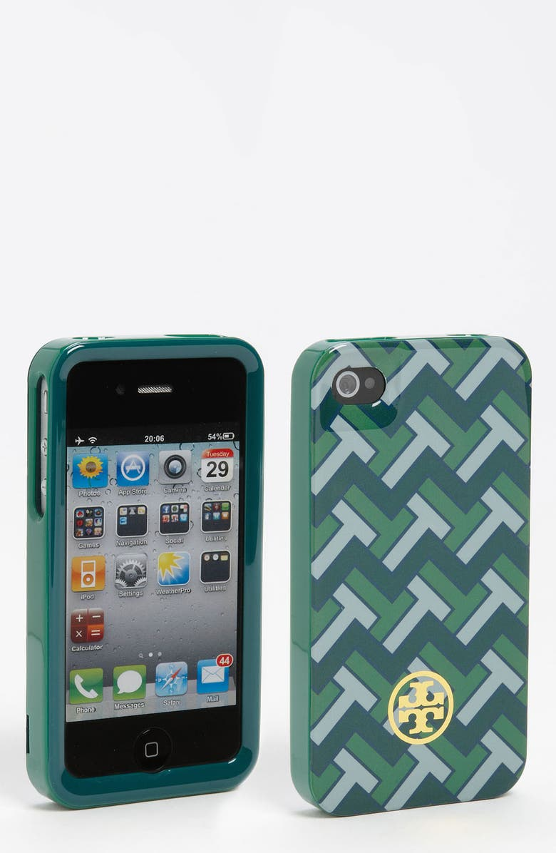 TORY BURCH 'Foxy' Hard Shell iPhone 4 & 4S Case, Main, color, 313