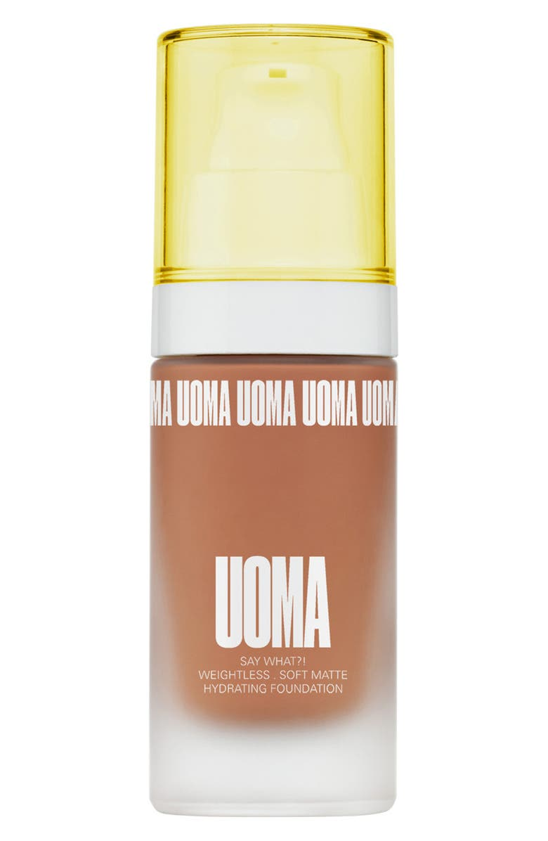 UOMA BEAUTY Say What?! Weightless Soft Matte Foundation, Main, color, BRONZE VENUS T1C