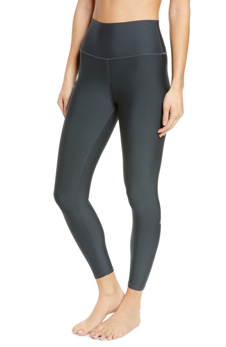 ALO Airlift High Waist 7/8 Leggings, Main, color, ANTHRACITE