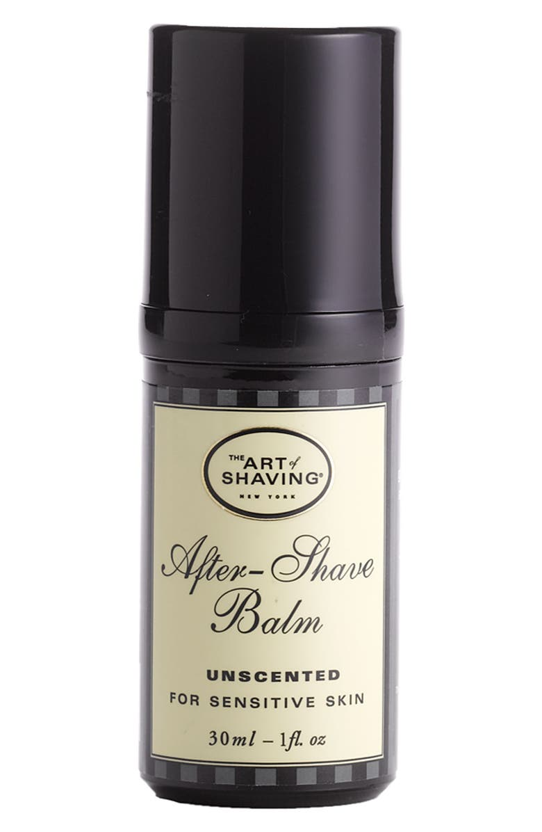 THE ART OF SHAVING <sup>®</sup> Unscented After-Shave Balm for Sensitive Skin, Main, color, 000