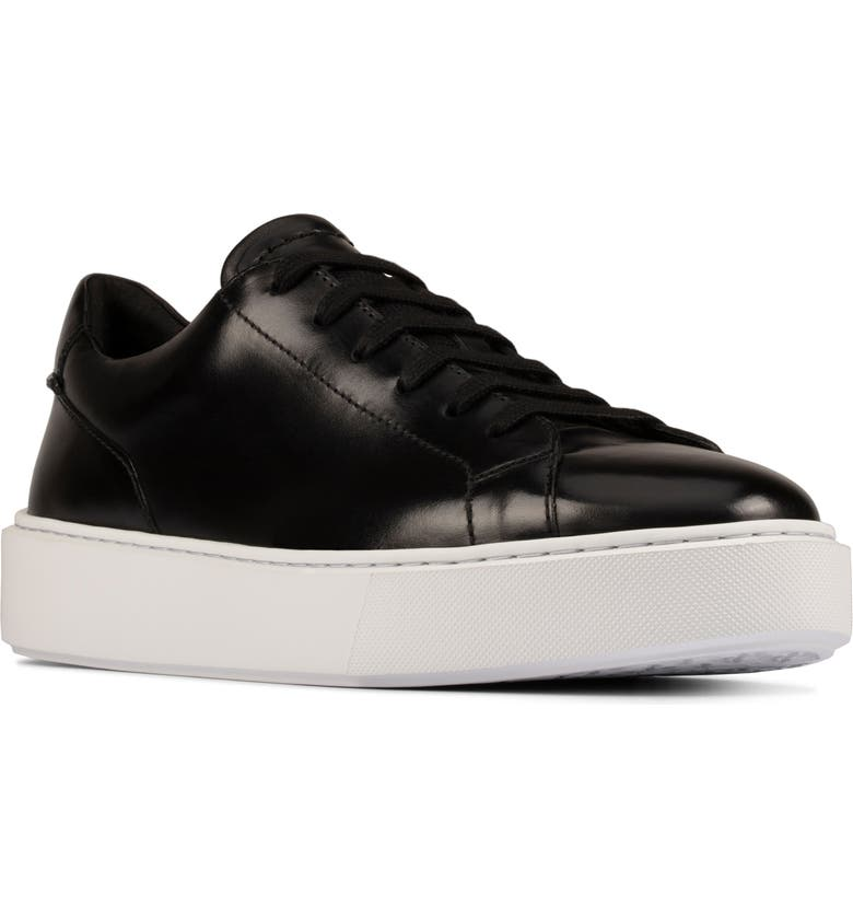 CLARKS<SUP>®</SUP> Hero Lite Sneaker, Main, color, BLACK HIGH SHINE LEATHER