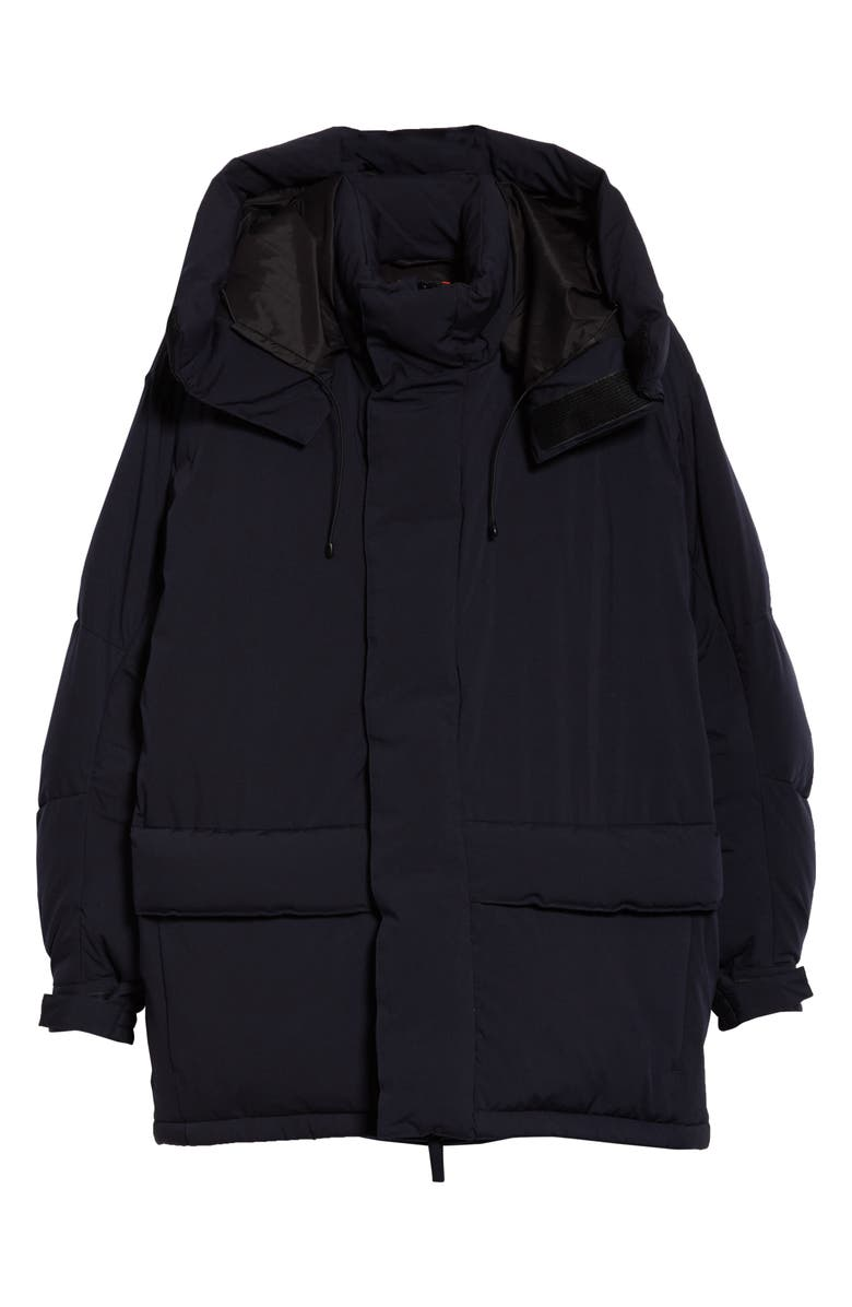 BEAMS Big Down Hooded Coat, Main, color, 410