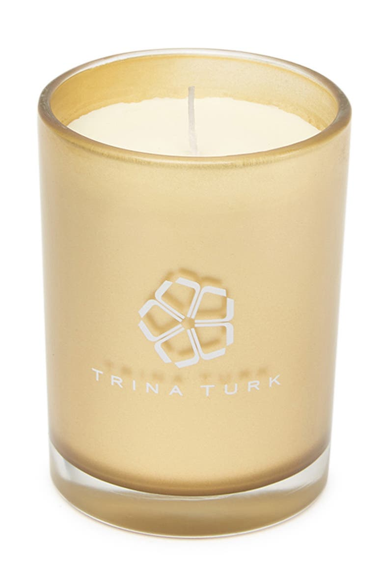 JAY IMPORTS Trina Turk Beach Scented Candle, Main, color, WHITE