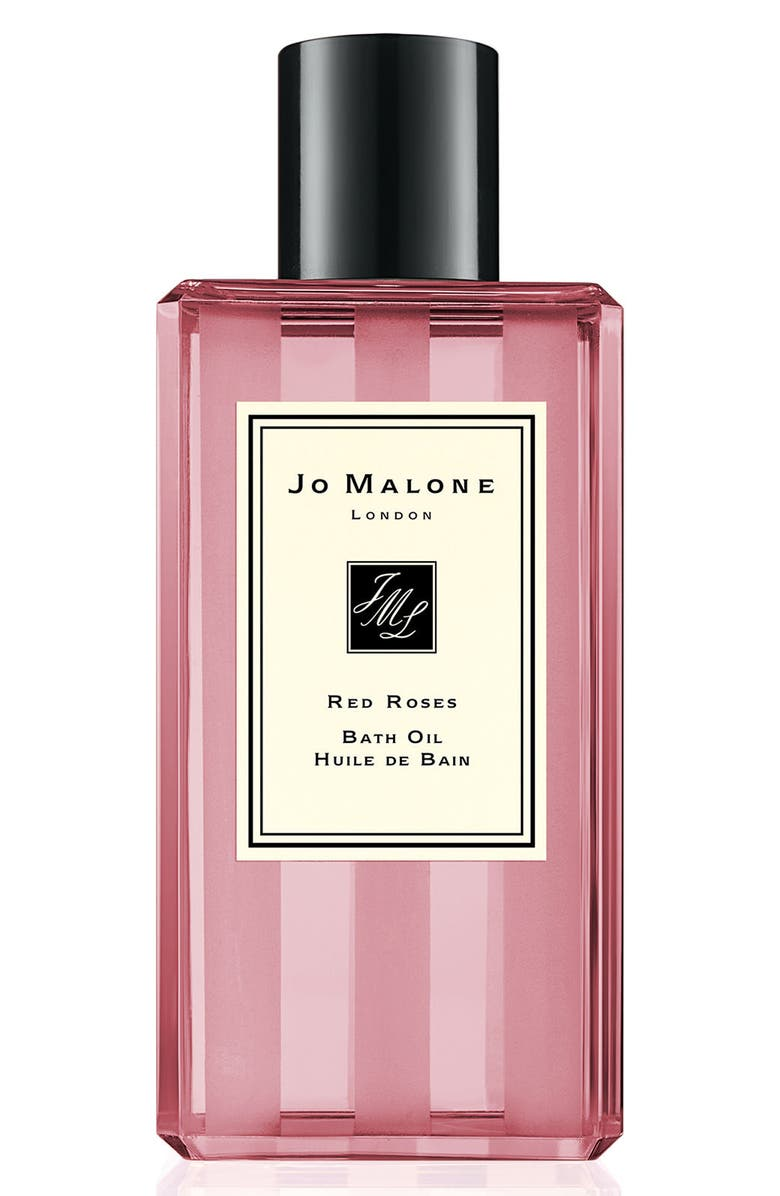 JO MALONE LONDON<SUP>™</SUP> Red Roses Bath Oil, Main, color, No Color