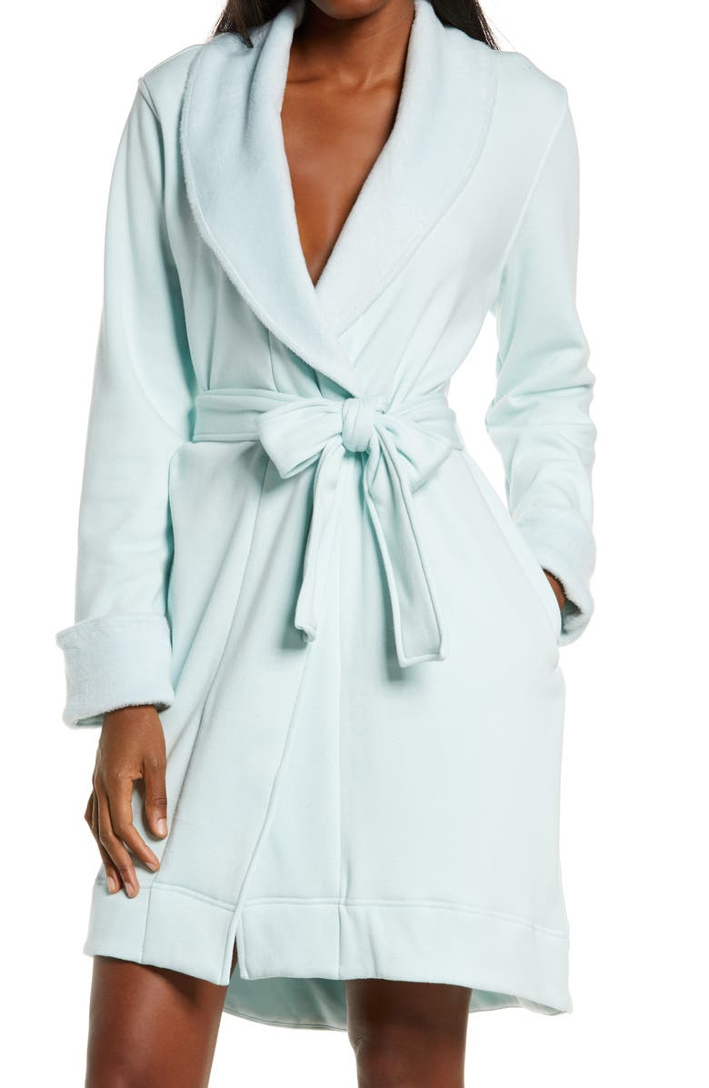 UGG<SUP>®</SUP> Blanche II Short Robe, Main, color, 400