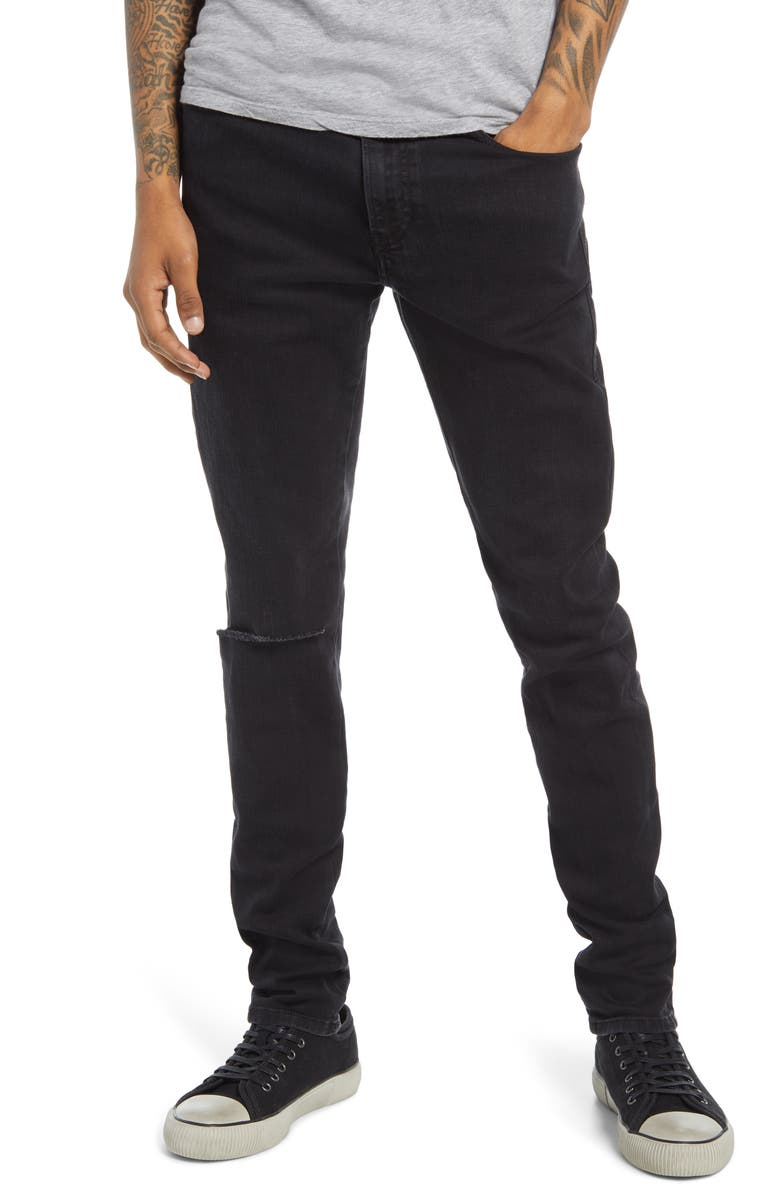 DIESEL<SUP>®</SUP> D-Amny Ripped Skinny Jeans, Main, color, DENIM